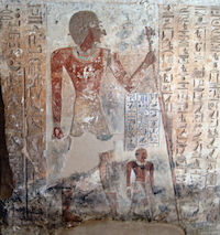 Ahmose, son of Ibana from his tomb copyright Olaf Taush