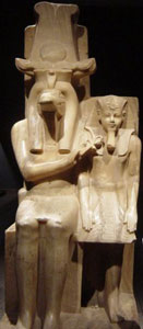 Amenhotep III and Sobek