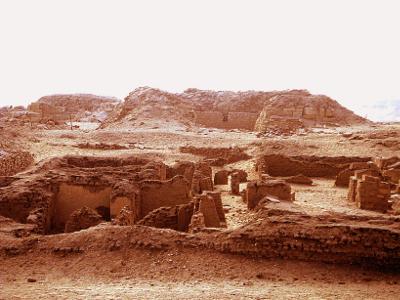 Khentkaus II pyramid ruins