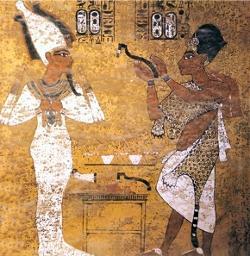Tutankhamun and Ay