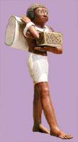 Statue male servant