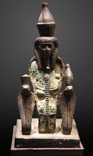 Atum, Late Period, Luxor Museum copyright Rama