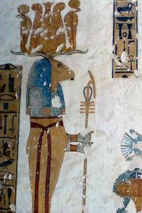 Tomb_KV19_(Kairoinfo4u).jpg: Kairoinfo4u photographer: Manna derivative work: JMCC1 [CC BY-SA 2.0]