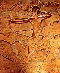 Ramesses at the Battle of Kadesh