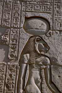 Sekhmet at Kom Ombo copyright Gerard Ducher