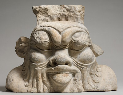 Bes, from a column capital probably from Bubastis,Ptolemaic Period, Metropolitan Museum