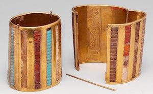 Bracelet, reign of Tuthmosis III, New Kingdom, Metropolitan Museum