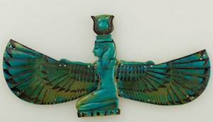 Winged Nut, Metropolitan Museum, Dynasty 21 - 25