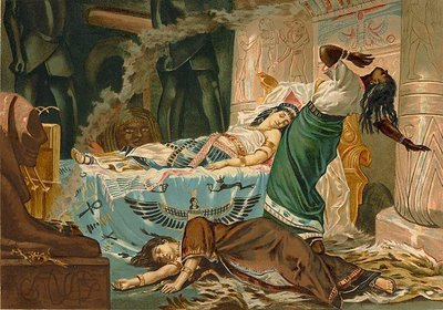 Death of Cleopatra, Juan Luna