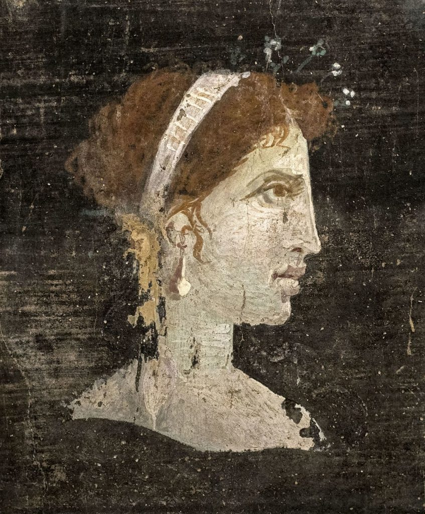 posthumous picture of Cleopatra