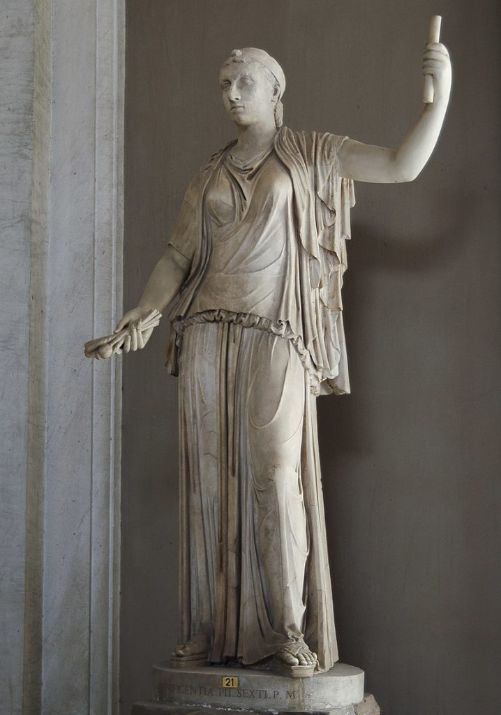 Roman statue of Cleopatra (restructured)