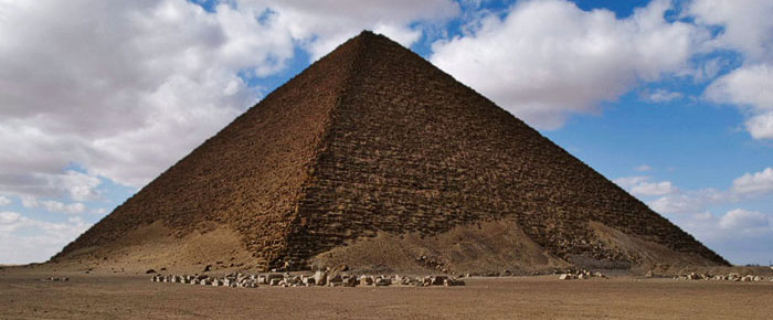 Red Pyramid of Sneferu copyright Michael Hoefner