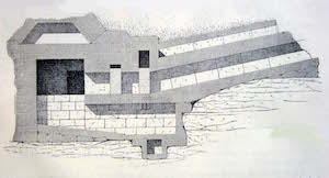 Sketch of the interior, Jacques de Morgan