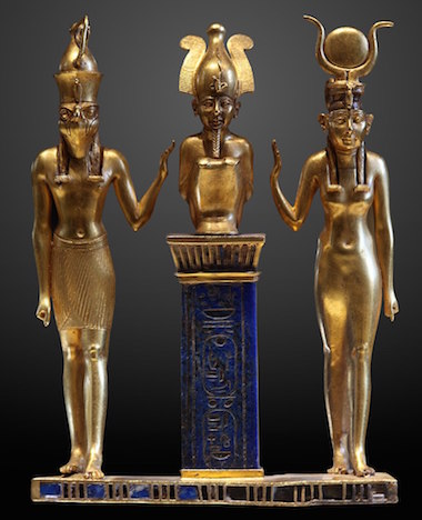 Isis, Osiris and Horus, TIP