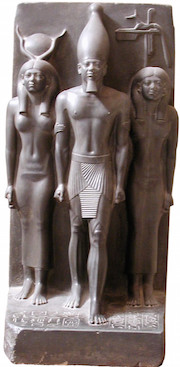 Menkaure, Hathor and Anput