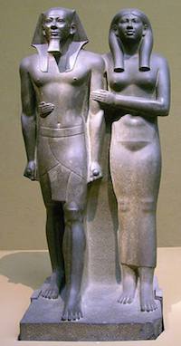 Menkaure and Khamerenebty II