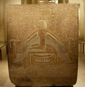 Isis, Rameses III sarcophagus