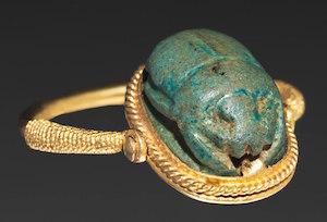 Scarab Ring, New Kingdom