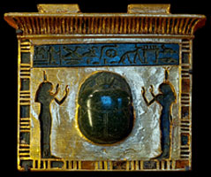 the scarab pectoral of the Vizier Paser