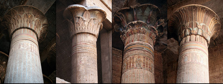 Columns at Esna @Steve Cameron