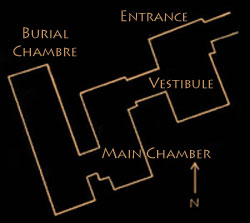 Plan Tomb G7140