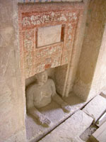 False door of Idu, Giza, www.egyptarchive.co.uk