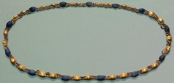 Lapis and Gold girdle, New Kingdom