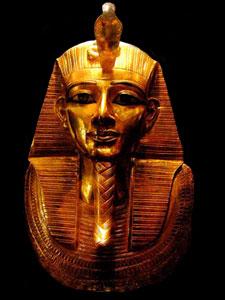gold mask pf Psusennes