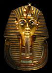 gold and Lapis mask of Tutankhamun, Dynasty 18