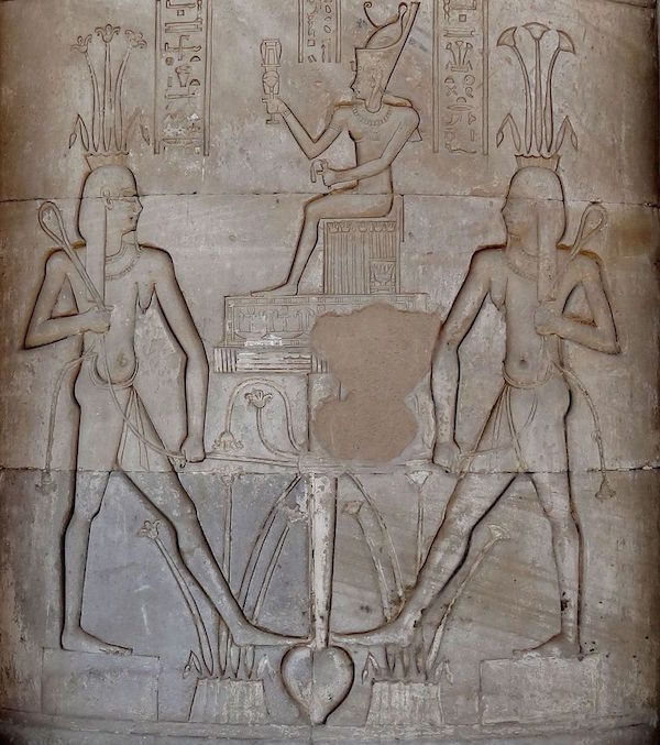 Hapy at Dendera