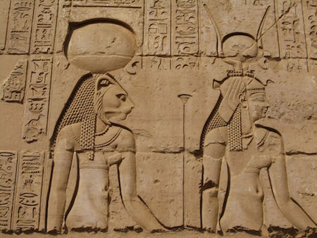 Hathor and Sekhmet