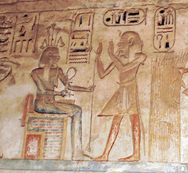 Hapy at Medinet Habu
