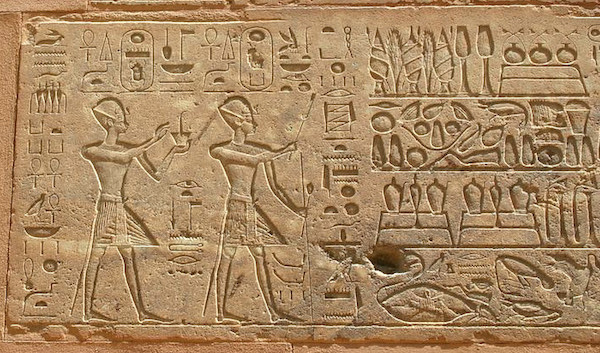 Hatshepsut and Thuthmosis III in the Red Chapel