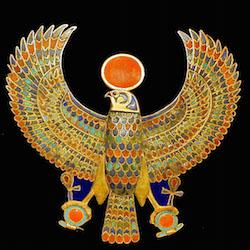 Tutankhamun's Falcon