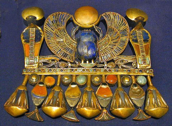 Winged Scarab, Tutankhamun, NK