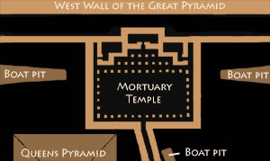 Great Pyramid Temple Plan