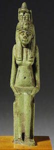 Late Period amulet of Hatmehyt