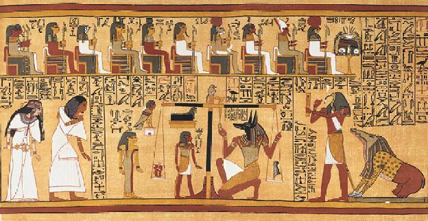 Spell 125 of the Book of the Dead (the Negative Confession) of Ani, 19th Dynasty