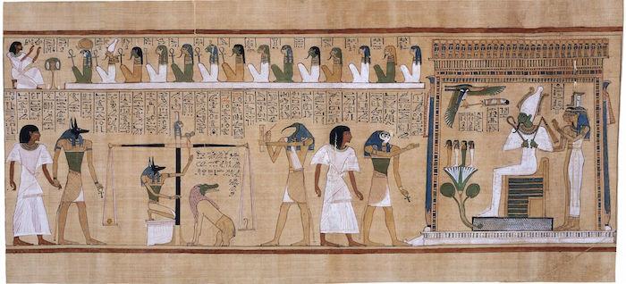 Judgement of Hunefer, 19th Dynasty, New Kingdom
