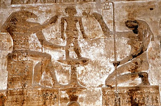 Heqet and Khnum at Dendera