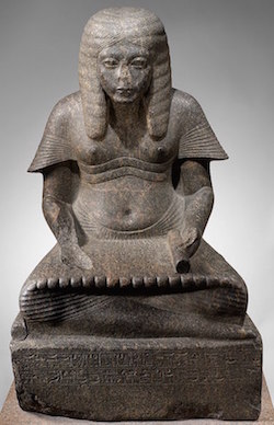 Horemheb as a scribe