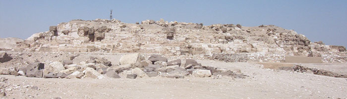 Pyramid of Djedefre at Abu Rawash