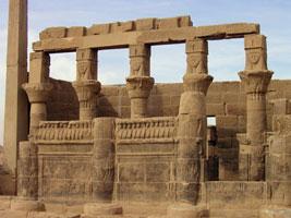 Temple of Hathor at Philae (copyright Schorle)