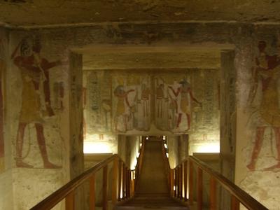 KV 14, the tomb of Tusret, usurped for Setnakht