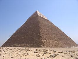 Khafre's pyramid (copyright Ankur P)