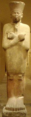 Montuhotep as Osiris (copyright Keith Schengili-Rob)