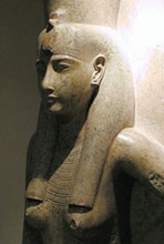 19th Dynasty statue of Mut