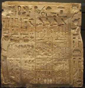 Stele from the mastaba of Nefermaat I