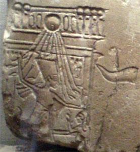 Nefertiti smiting (copyright Captmondo)