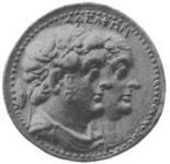 Ptolemy II Philadelphus and his sister-wife Arsinoe II